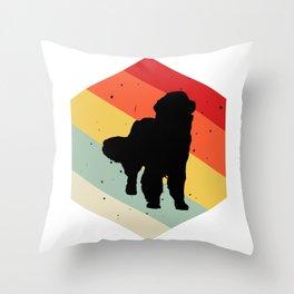 Cavalier king charles spaniel print For Dog Lovers Cute Dog Throw Pillow