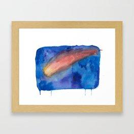 Red Comets Framed Art Print
