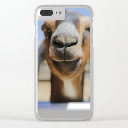 JarJar The Goat Clear iPhone Case