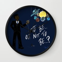 The Pluto Conundrum Wall Clock