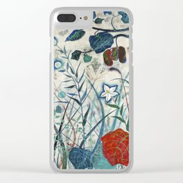 nature【Japanese painting】 Clear iPhone Case
