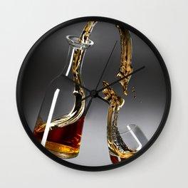 Gravity Scotch Wall Clock