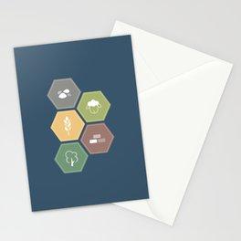 Economics Stationery Cards