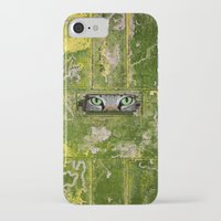 iPhone Cases featuring ANSWERED by Catspaws