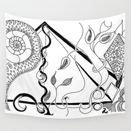 Sea Flora Wall Tapestry