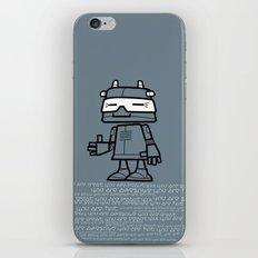 Ze Robot, Cool :) iPhone & iPod Skin