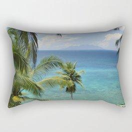 Therese island, Seychelles Rectangular Pillow