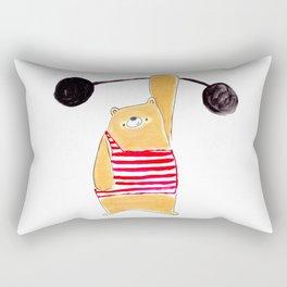 We love a strong man beary much Rectangular Pillow