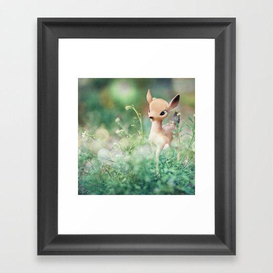 Frolic Framed Art Print