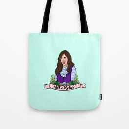 Janet is Not a Robot Tote Bag
