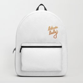 bitcoin baby   [color] Backpack