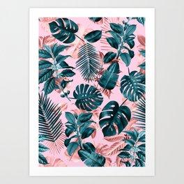 Tropical Garden III Art Print