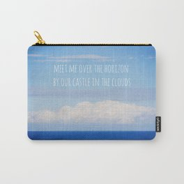 Meet me over the horizon Carry-All Pouch