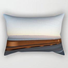 Bay Bridge Rectangular Pillow