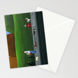 Hilly Hold-up Stationery Cards