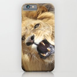 """""""The Lion King"""" #2 iPhone Case"""