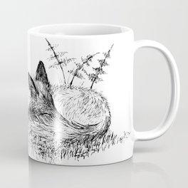 Sleepy Fox Coffee Mug
