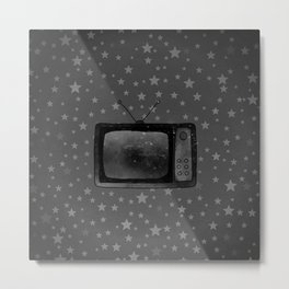 Television Metal Print