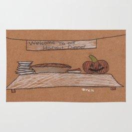 Thanksgiving Dessert Rug