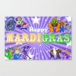 Mardi Gras 2 Canvas Print
