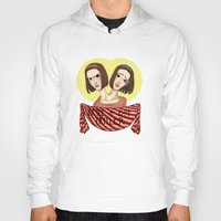 ahs Hoodies featuring AHS Twins by Raygor