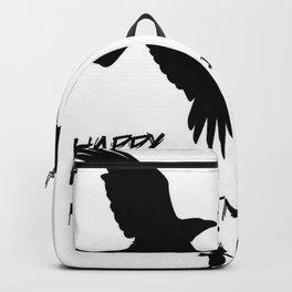 Happy Halloween Murder of Crows  Backpack
