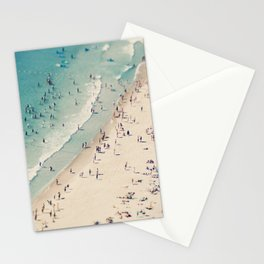 Beach Love VX aerial photography by Ingrid Beddoes Stationery Cards