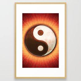Yin & Yang - Sun Light Framed Art Print