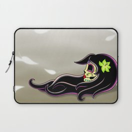 In the Wind - Day of the Dead Calaverita Laptop Sleeve