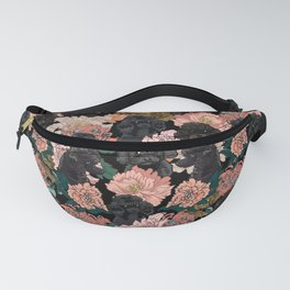 Because Black Poodle Fanny Pack