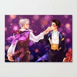 Wedding tux Canvas Print