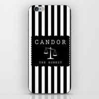 divergent iPhone & iPod Skins featuring CANDOR - DIVERGENT by MarcoMellark
