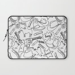 Wild west pattern Laptop Sleeve