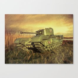 Churchill Tank Canvas Print