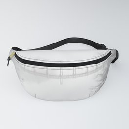 Spring Lake New Jersey in the Fog Fanny Pack