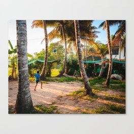 Play on the Backwaters Canvas Print