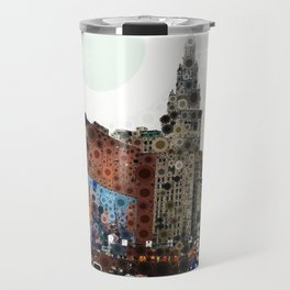 Downtown Cleveland Travel Mug