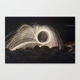 Firespinner #2 Canvas Print