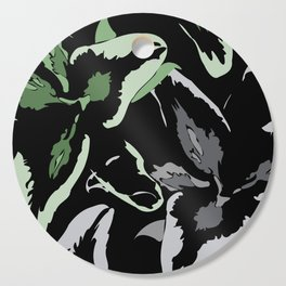 FLORAL ABSTRACTION Cutting Board