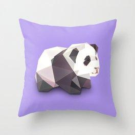 Panda. Throw Pillow