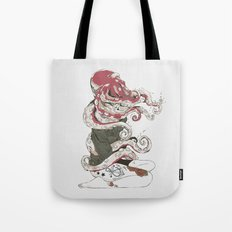 My head is an octopus Tote Bag