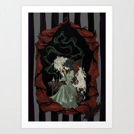 Tragically Ever After: Mina Art Print