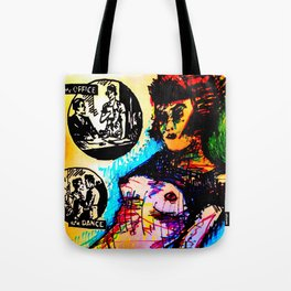 Romance: at the Office/at a Dance Tote Bag