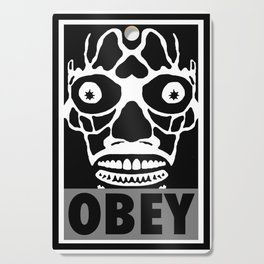 John Carpenter's They Live X OBEY  Cutting Board
