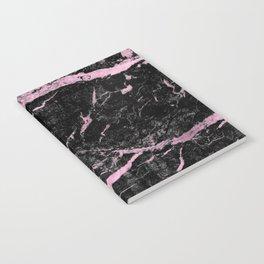 Marble Black Pink - Far Away Notebook