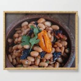 Not your typical beans Serving Tray