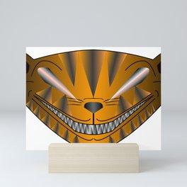 Scary Cat Mini Art Print