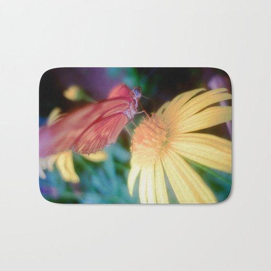 hungry butterfly Bath Mat