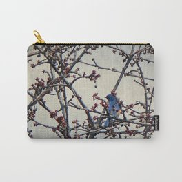 the bluebird and the cherry tree Carry-All Pouch
