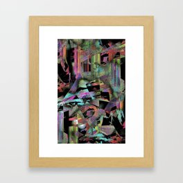 Buffering . . . . . . . Framed Art Print